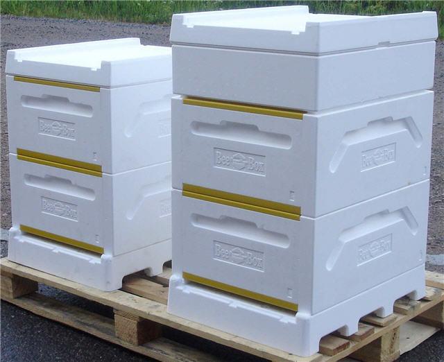 Пенополистирольные улья Bee-Box
