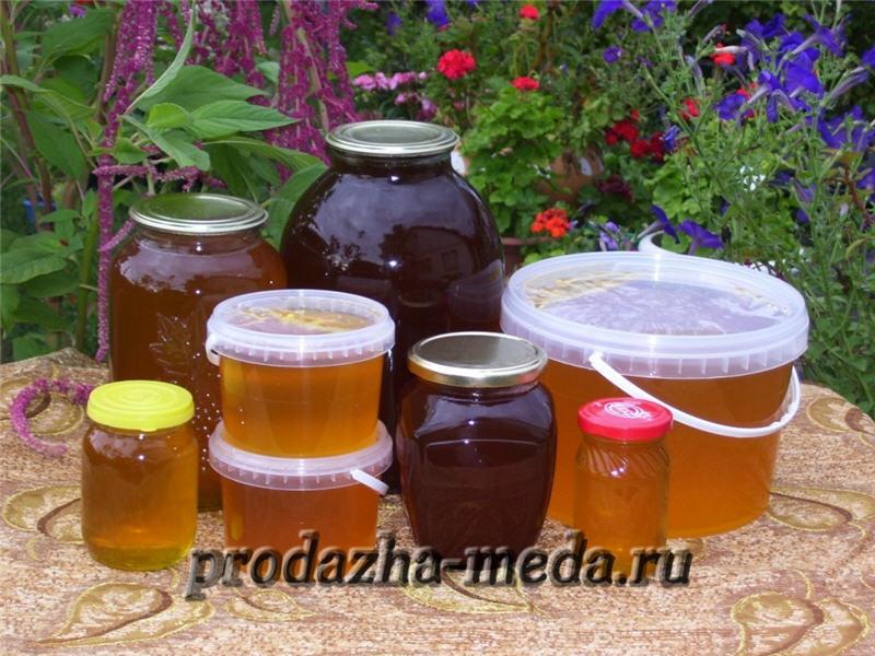 Тамбовский мёд. Фото с prodazha-meda.ru