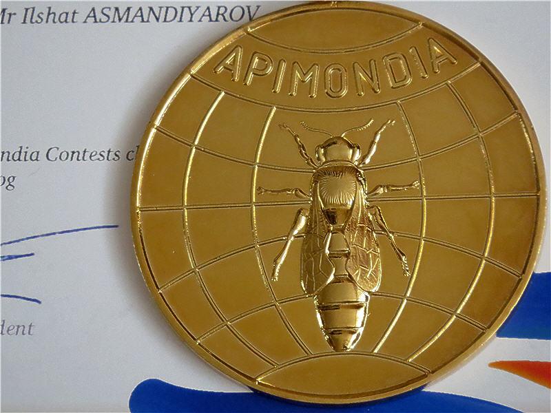 Золотая медаль за пчеловодный блог
