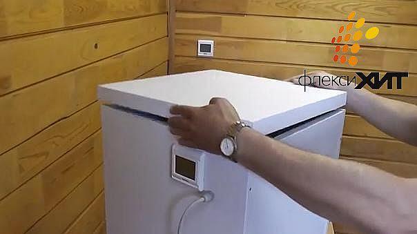 Крышка корпусного нагревателя