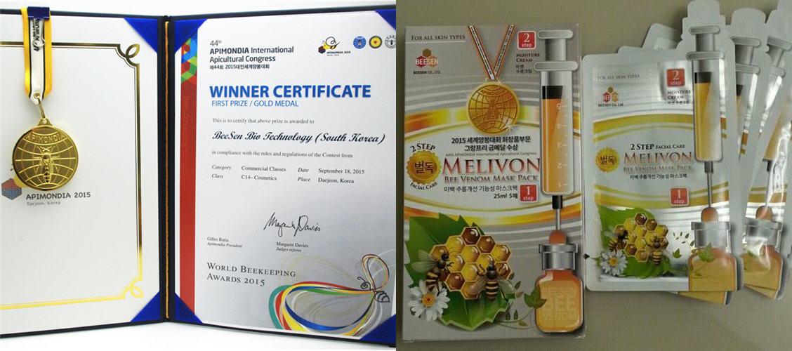 BeeSen Bio Tehlogy - Маска для лица MELIVON