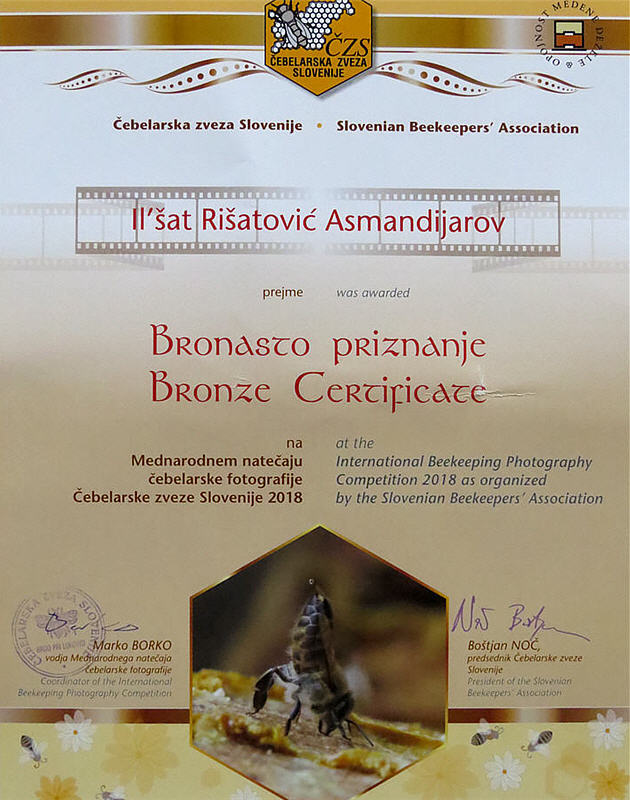 International Beekeeping Photography Competition 2018